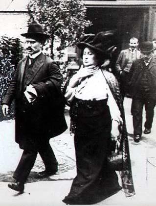 Karl Liebknecht y Rosa Luxemburg